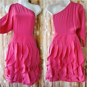 BCBG Max Azria Hot Pink Cocktail Dress